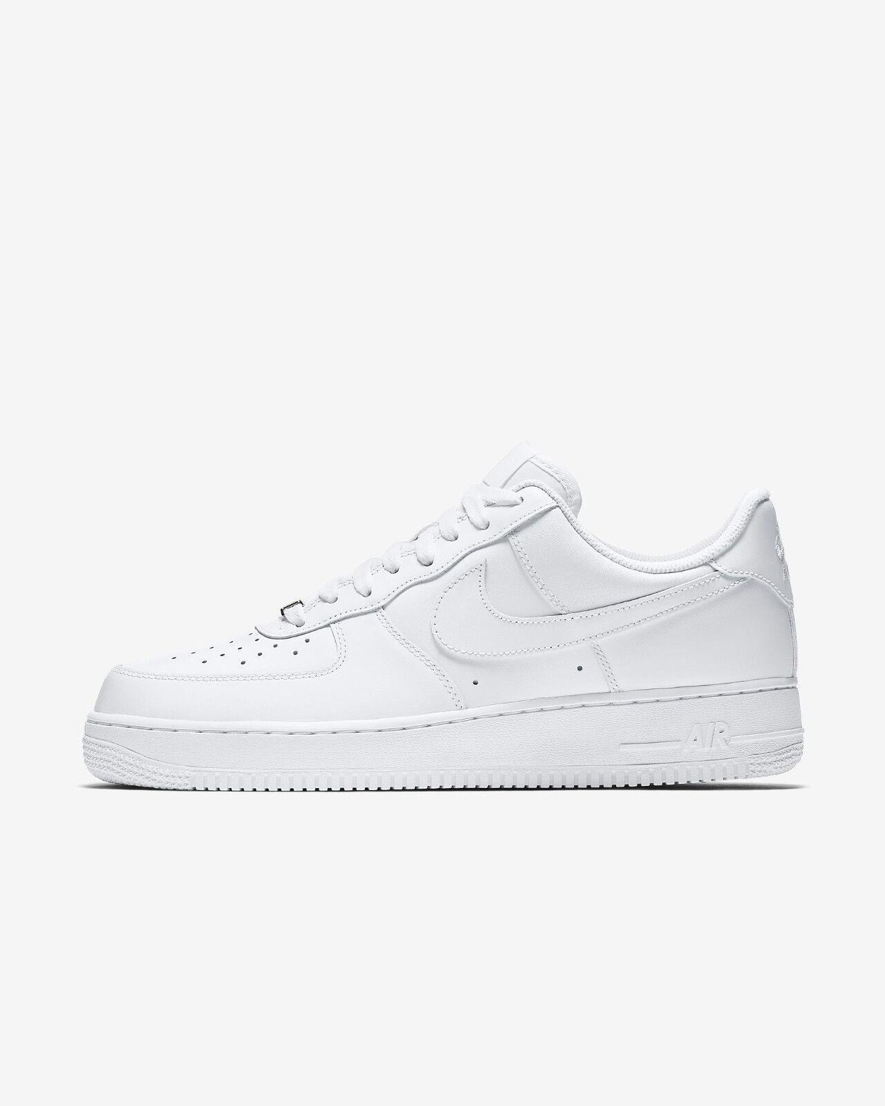 Scarpe Nike White Air Force One '07 White Nike Bianco Original Shoes Uomo Donna 315122-111 48dedd