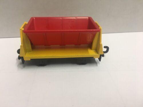 Matchbox ferrocarril vagón Lesney Flat car ro kipp remolque rojo Train Railway