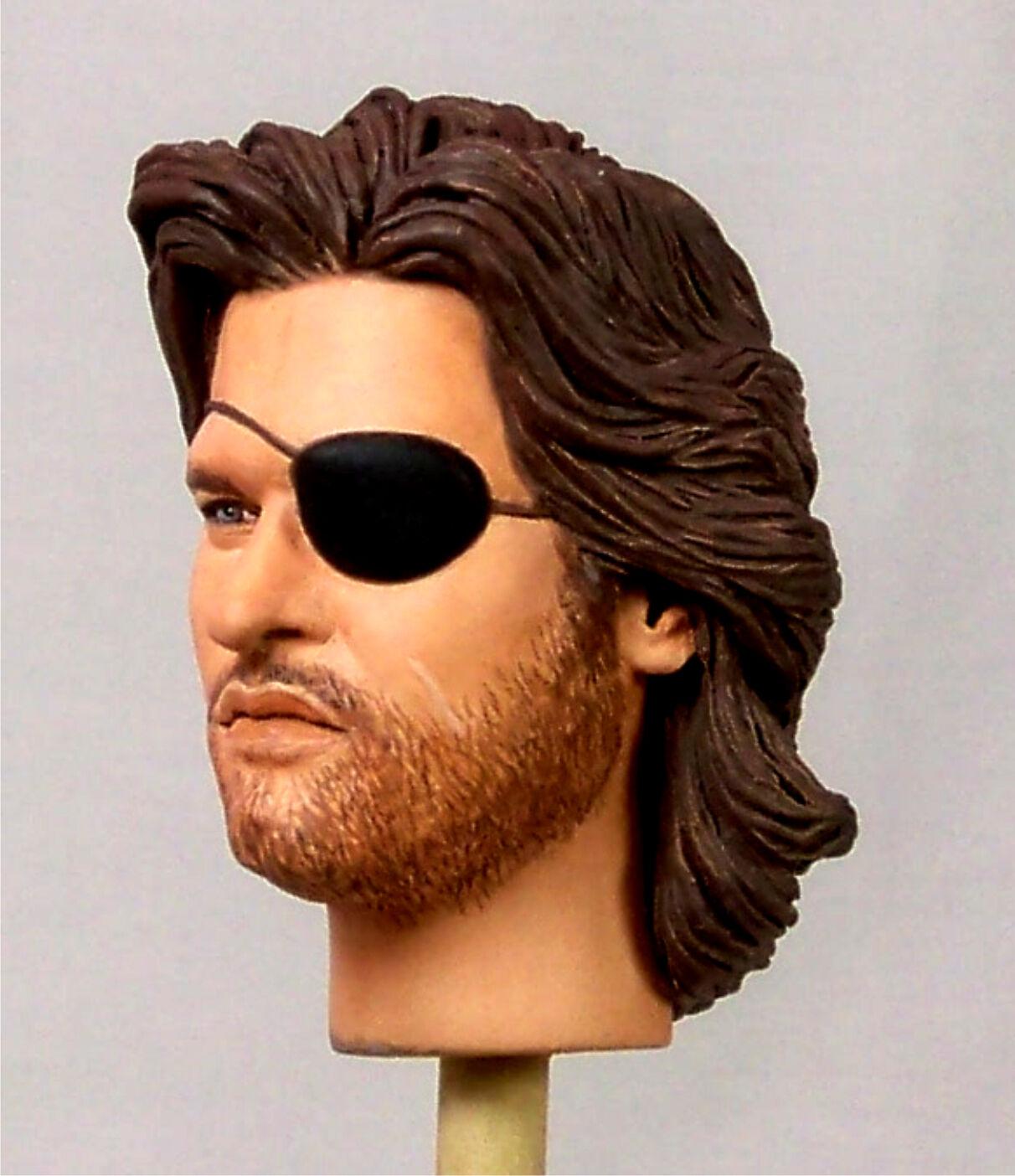 1:6 Custom Portrait of Kurt Russell as Snake York Plissken from Escape From New York Snake b6f6d4