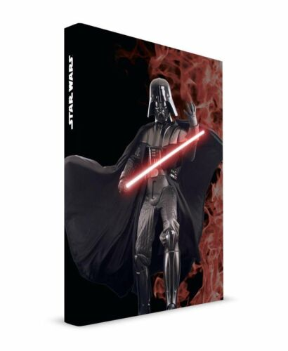Darth Vader Star Wars A5 Notebook with Sound & Light Function