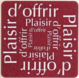 12-Etiquettes-stickers-039-PLAISIR-D-039-OFFRIR-039-Coloris-Bordeaux-Ref-ROC5