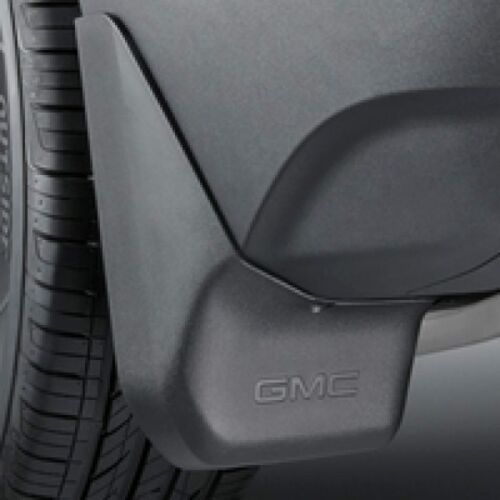 2018-2020 GMC Terrain Genuine GM Front /& Rear Molded Splash Guards Black