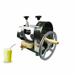 Manual Commercial Juice Machine Press Sugarcane Juicer Cane Ginger Press Drink