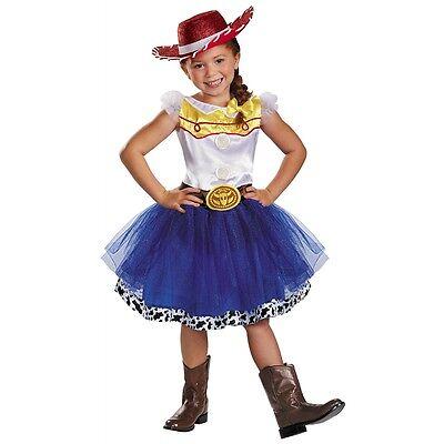 Jessie Tutu Prestige Costume Kids Toy Story Halloween Fancy Dress Cowgirl