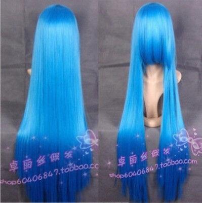"100cm/120cm long straight heat resistant Cosplay Fashion Wig 40""/47""postage free"