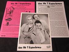 THE MR. T EXPERIENCE 'REVENGE IS SWEET…' 1997 PRESS KIT--PHOTO