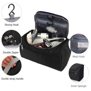 5b94894aa58a Travel Wash Bag Men Womens Toiletry Organizer Shaving Cosmetic Case ...