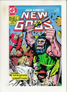 NEW-GODS-4-VF-NM-Jack-Kirby-DC-1984-more-Kirby-DC-in-store