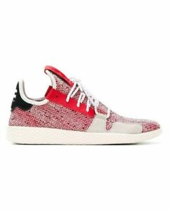 best sneakers 547a1 a8ba8 Caricamento dell immagine in corso ADIDAS-Uomo-Rosso-Grigio-Bianco -x-Pharrell-Williams-