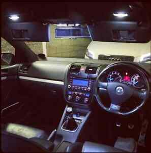 Image Is Loading Vw Golf Mk5 R32 Xenon White Led Interior