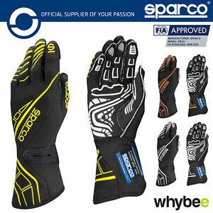 New-001311-Sparco-Lap-RG-5-Race-Motorsport-Gloves-Hand-Protection-FIA-Approved