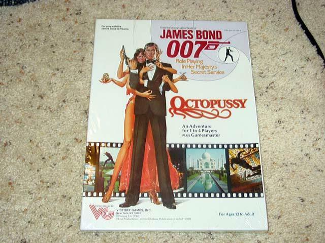 Victory Games - James Bond 007 - Octopussy   Role Playing Game (SEALED)