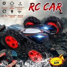 Doppelseite RC Spielzeugauto fernsteuern Racing Off-roadcar LED Blitzlicht Auto