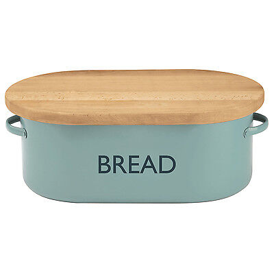 Typhoon Vintage Kitchen Bread Bin - Cream, Red, Black, Blue