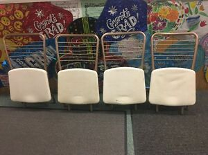 1950 S Retro Mid Century Cosco Folding Chairs Gate Fold