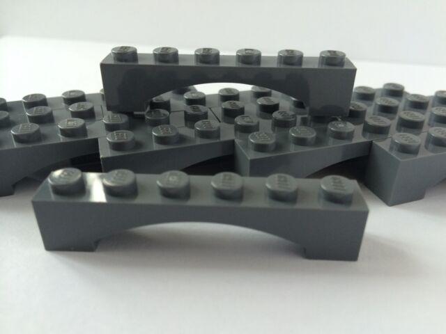 LEGO Part 3001 Dark Green Brick 2 x 8 pour 6 pieces NEUF