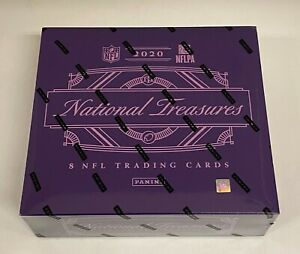 2020 Panini National Treasures Football Hobby Box Sealed - Justin Herbert RC YR
