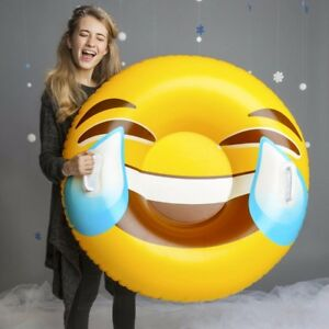 BigMouth GIANT SNOW CONE Inflatable Snow Tube Winter Sled Ride Pool Float