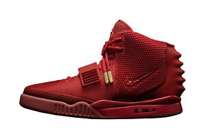 28367465f Nike Air Yeezy 2 Red October Kanye West Size 10 With Receipt 100 Authentic