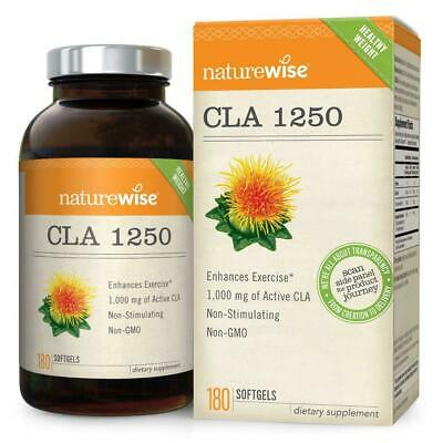 NatureWise CLA 1250, High Potency, Natural Weight Loss Exercise ...