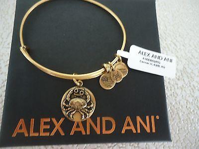 Alex and Ani Star Fish Charm Bangle Rafaelian Gold Finish Bracelet NWT//Box//Card