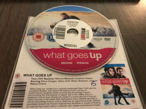 1 of 1 - What Goes Up (DVD, 2012) DISK ONLY