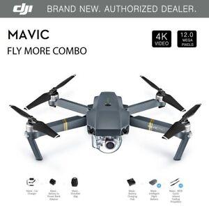 DJI Mavic Pro Fly More Combo - 4K Stabilized Cameral, Active Track, AvoidanceGPS