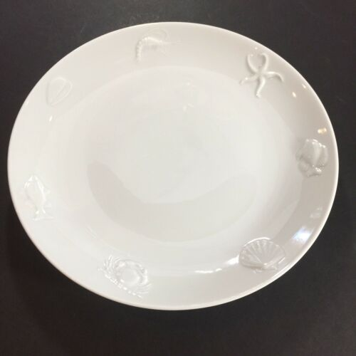 1 APILCO OCEAN Dinner Pasta Porcelain Star Fish FRANCE Plate 5927858 11 34""