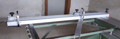 Ablänganschlag Längenanschlag Für Formatkreissäge Mit Zwei Ablängklappen V2 3,2m Profitieren Sie Klein