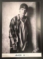 AVICII DJ SIGNED 8 1/4 X 11 3/4 PHOTO Cardstock Promotional Photo 100% Authentic