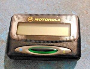 Motorola-LS750-Numeric-POCSAG-VHF-pager-142-153MHZ