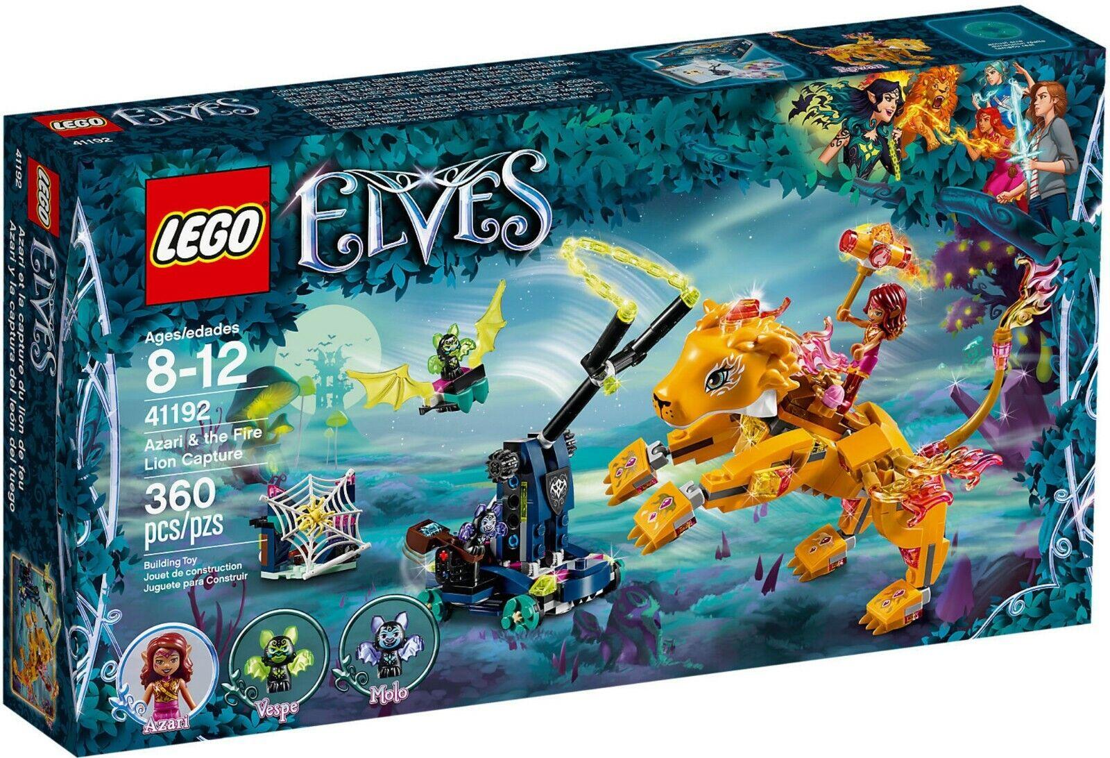 Lego Elfen 41192 - Azari E die Fang der Leone von Feuer Neu