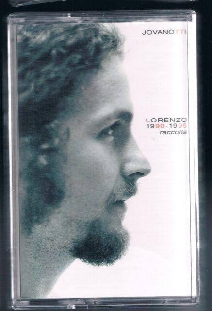 LORENZO JOVANOTTI RACCOLTA 1990 - 1995 MC K7 MUSICASSETTA NUOVAA!!!