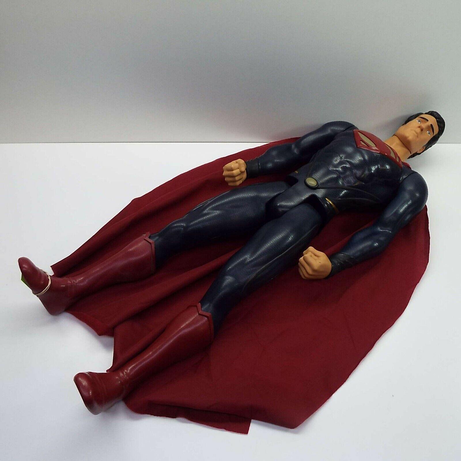 SUPERMAN Man of Steel Movie DC Universe 31'' Action Figure Jakks Pacific (T74)