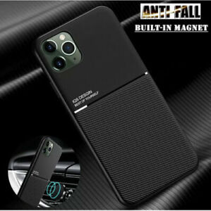 Matte Shockproof Case For iPhone 13 12 Pro Max Mini X XS 7 8 Plus Cover Magnet