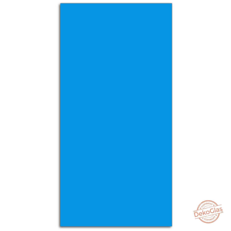 Glas-Magnettafel DekoGlas 50x100 Magnetwand Pinnwand Schreibtafel Blau 34053