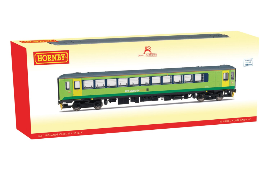 Hornby R3575 East Midles classe classe classe 153 153379 DCC Ready nuovo a50f82