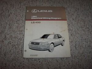 1991 Lexus LS400 LS 400 Factory Original Electrical Wiring ...