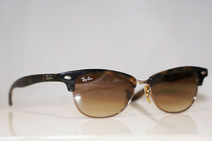 5c14de2d0ce5f Ray-Ban Gafas de Sol para Mujer de Diseñador Marrón Clubmaster RB ...