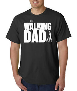 The-WALKING-DAD-T-Shirt-Funny-Father-039-s-Day-Gift-Living-Dead-Halloween-Horror