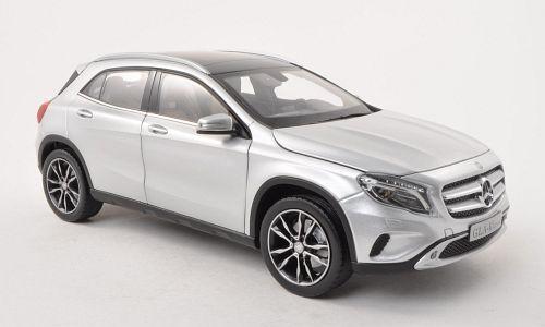 Norev 2018 Mercedes Benz Gla Plata (distribuidor) 1:18 Nuevo artículo