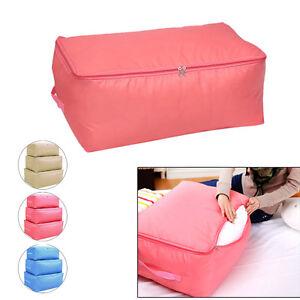Clothes-Blanket-Quilt-Closet-Sweater-Organizer-Box-Foldable-Storage-Bag-Pouch