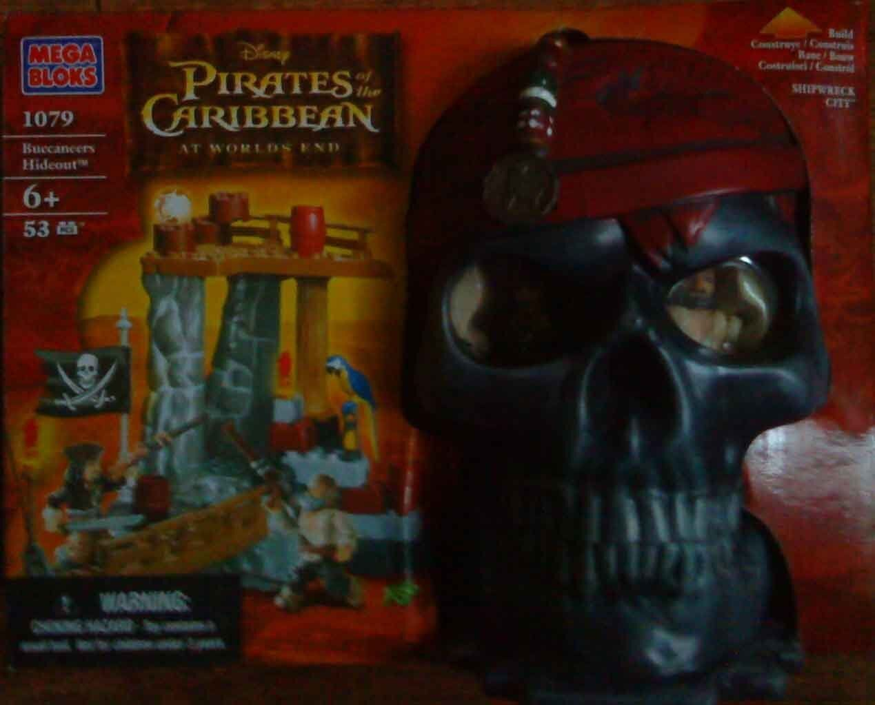 Mega bloks pirates of the caribbean at worlds end - buccanners hideout