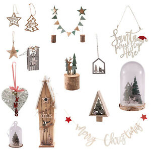 Rustic Christmas Decorations Gl Dome
