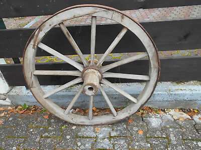 Geliefert Werden Tropf-Trocken Alte Berufe Antik Großes Wagenrad Holzrad 96 Cm Kann Evtl
