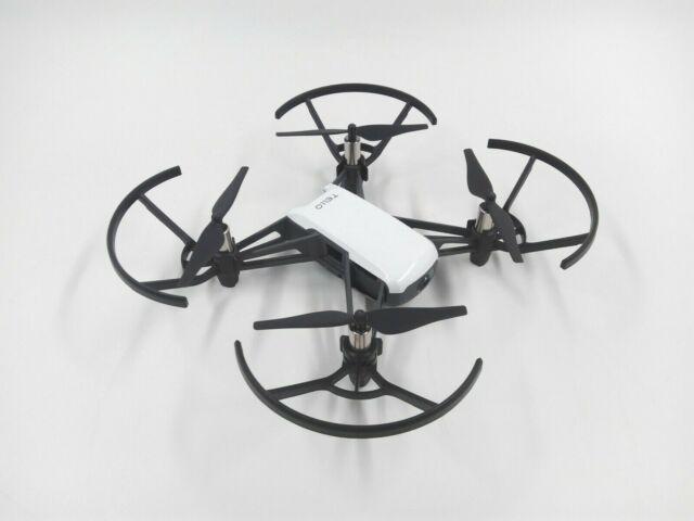 Mini Dron Ryze DJI Tello 13 Min 5 Mp fotos Transmision 720p HD VR Ready Blanco