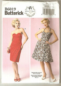 Butterick-Sewing-Pattern-B6019-By-Gertie-Miss-Retro-Styled-Dresses-Sz-4-12