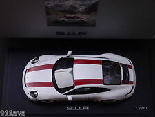 PORSCHE 911 R 1 : 18 NEW MODEL CAR WITH BLK WOOD STAND & COVER  COLLECTOR ITEM