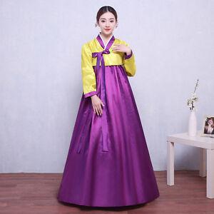 Image Is Loading Korean Women 039 S Hanbok Ancient Traditional Dress