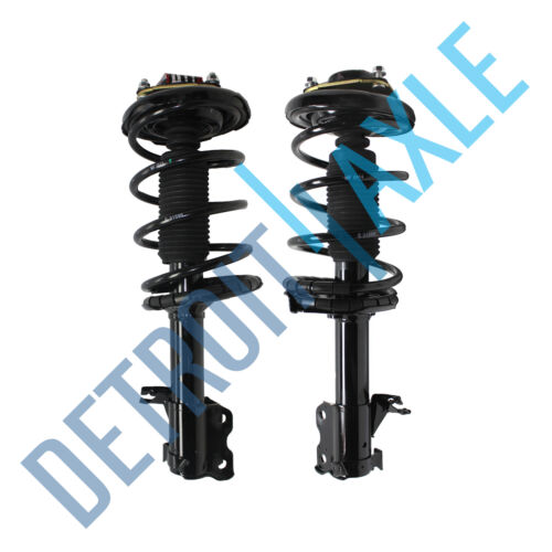 2 Front Strut W//Coil /& Spring for 2000 2001 Nissan Maxima Infiniti i30 Both